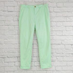 GAP | Broken-in Straight Leg Pale Green Jeans